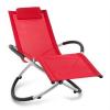 Blumfeldt Chilly Billy, piros, kerti relax szék, alumínium