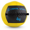 Capital Sports Wallba 4, sárga, 4 kg, wall ball, műbőr