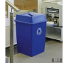 Szelektív, műanyag hulladéktároló edény, szemetes nagy űrtartalommal 132 l 4333 kerti tárolás