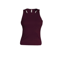 KARIBAN női trikó, plum (Kariban női trikó, plum)