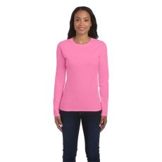 GILDAN női h.ujjú Softstyle póló, azalea (Gildan női h.ujjú Softstyle póló, azalea)