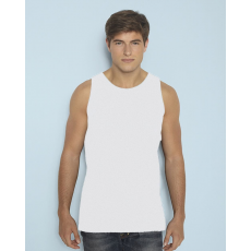 GILDAN ujjatlan férfi póló, fehér (Gildan ujjatlan férfi póló, fehér)