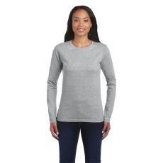 GILDAN női h.ujjú Softstyle póló, sportszürke (Gildan női h.ujjú Softstyle póló, sportszürke)