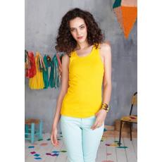 KARIBAN női trikó, truesárga (Kariban női trikó, truesárga)