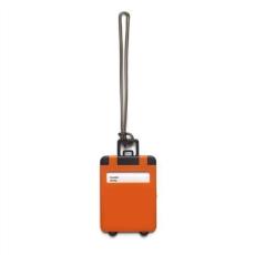 Poggyászazonosító, mûanyag, narancs (Poggyászazonosító. Mûanyag.)