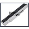 Samsung AA-PL9NC6W 4400 mAh 6 cella fehér notebook/laptop akku/akkumulátor utángyártott
