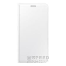 Samsung Galaxy J5 gyári flip tok, fehér, EF-WJ500BW, (SM-J500) tok és táska