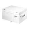 Archiváló konténer, S méret, újrahasznosított karton, LEITZ Infinity, fehér