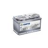 Varta Silver Dynamic AGM 12v 80ah autó akkumulátor jobb+ Varta