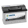 Varta Black 12v 70ah autó akkumulátor jobb+ alacsony Varta