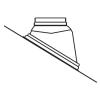 Almeva LIK PPH/PPH ferde tető borítás 80/125 25°-45° UNI