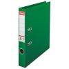 ESSELTE Iratrendező, 50 mm, A4, PP/PP, élvédő sínnel, ESSELTE Standard, zöld