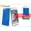 Muvit Apple iPhone 6 Plus szilikon hátlap - Muvit Ultra Thin 0,35 mm - blue