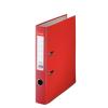 Iratrendező, 50 mm, A4, PP/karton, élvédő sínnel, ESSELTE Economy, piros