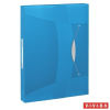 GUMIS mappa, 40 mm, PP, A4, ESSELTE Vivida Jumbo, Vivida kék