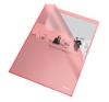 Genotherm, L, A4, 105 mikron, narancsos felület, ESSELTE Standard, piros 25db/csomag lefűző