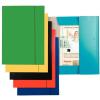 GUMIS mappa, 15 mm, karton, A4, ESSELTE Economy, zöld 10db/csomag