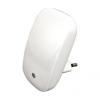Luxera 1619 - LED lámpa csatlakozódugóba MINI LIGHT 2xLED/0,3W/230V érzékelő