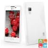 CELLECT LG L70/L65 TPUS szilikon hátlap, Fehér