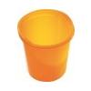 HELIT Szemetes, 13 liter, HELIT Economy, áttetszõ narancssárga