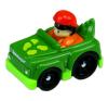 Little People: autópajtások - zöld vadász autó autópálya és játékautó