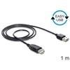DELOCK USB 2.0 hosszabbító kábel A-A (Easy-USB) 1 m