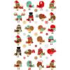 Maildor Cooky 3D matricák - Karácsonyi madrak