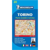 MICHELIN 20. Torinó térkép Michelin 1:16 000 2012