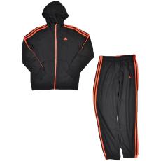 Adidas PERFORMANCE YB ESS 3S FZH B kamasz fiú végigzippes pulóver
