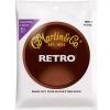 Martin MM11 Retro Acoustic Guitar Strings, Custom Light