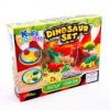 Dinoszaurusz készítő gyurmakészlet, 11 darabos