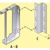 Zucchini Rögzitőbilincs 160-315A Aluminium , 250-400A Réz Sinrendszerhez