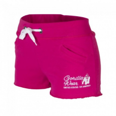 Gorilla Wear Women's New Jersey Sweat Shorts Pink