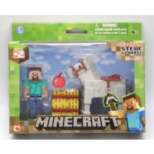 Minecraft Steve és Ló csomag akciófigura