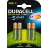 DURACELL StayCharged 4db-os AAA Elem csomag
