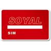 Soyal AR-TAGC-SIM rendszer inicializáló kártya