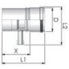 Tricox PPs kondenzátum leválasztó 200 mm