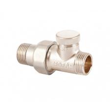Mofém RVR-SH 15 egyenes visszatérő radiátorszelep, előbeállítási funkció nélkül hűtés, fűtés szerelvény