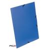 """VIQUEL Gumis mappa, 15 mm, PP, A4, VIQUEL """"Standard"""", kék"""
