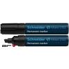 """SCHNEIDER Alkoholos marker, 2-7 mm, vágott, SCHNEIDER """"Maxx 250"""", fekete"""