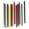 FELLOWES Spirál, mûanyag, 32 mm, 241-280 lap, FELLOWES, 50 db, fehér