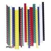 FELLOWES Spirál, mûanyag, 12 mm, 56-80 lap, FELLOWES, 100 db, fehér