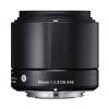 Sigma 60mm (3ÉV) f/2.8 (A) DN - fekete - Olympus