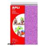 """APLI Moosgumi, 210x297 mm, A4, glitteres, APLI """"Eva Sheets"""", vegyes színek"""