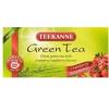 TEEKANNE zöld tea tőzegáfonya-málna 20db tea