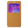 Baseus Terse bőr tok SAMSUNG Galaxy Note4 barna