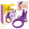 smile Rabbit vibrációs péniszgyűrű - lila