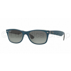 Ray-Ban RB2132 619171 NEW WAYFARER TOP MT PETROLEUM ON GREY LIGHT GREY GRADIENT DARK GREY napszemüveg (RB2132__619171)