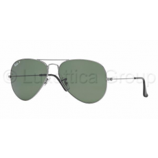 Ray-Ban RB3025 004/58 AVIATOR GUNMETAL CRYSTAL GREEN POLARIZED napszemüveg (RB3025__004_58)