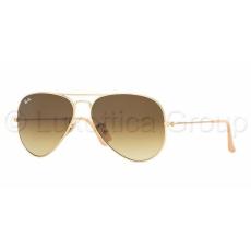 Ray-Ban RB3025 112/85 AVIATOR MATTE GOLD BROWN GRADIENT napszemüveg (RB3025__112_85)